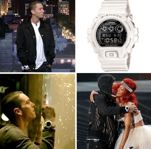 белые часы джишок