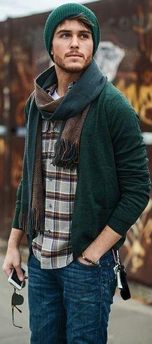 как мужчине подобрать шарф к одежде