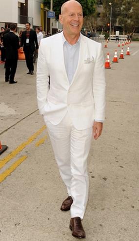 туфли под белый костюм