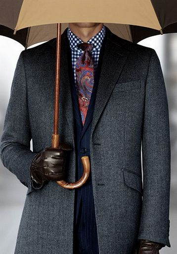 правильная длина рукава пальто