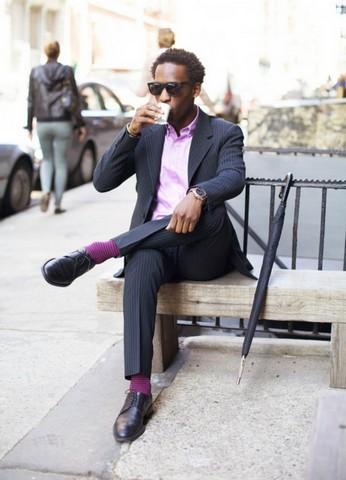 носки под цвет рубашки