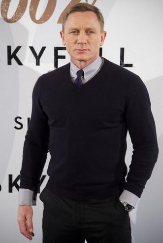 рубашка с галстуком под свитер
