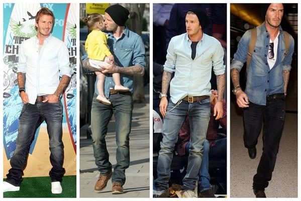 рубашка к джинсам